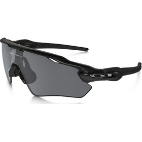 Oakley Radar EV Path Sunglasses Polished Black/Black Iridium Polarized